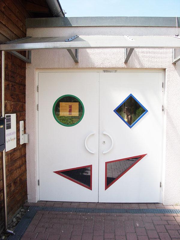 Eingang KiGa Louise