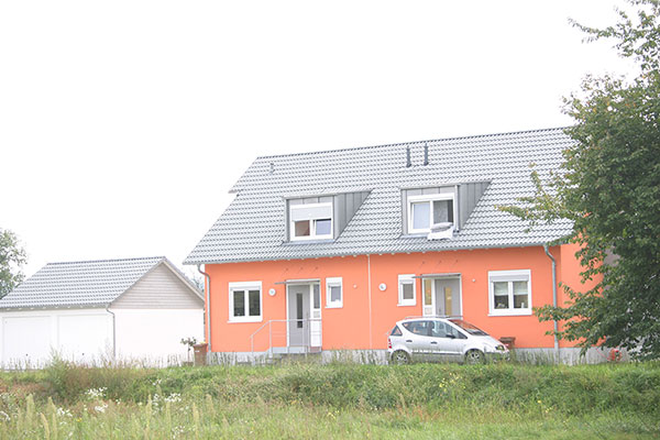 Neubau eines Doppelhauses in Baden-Baden