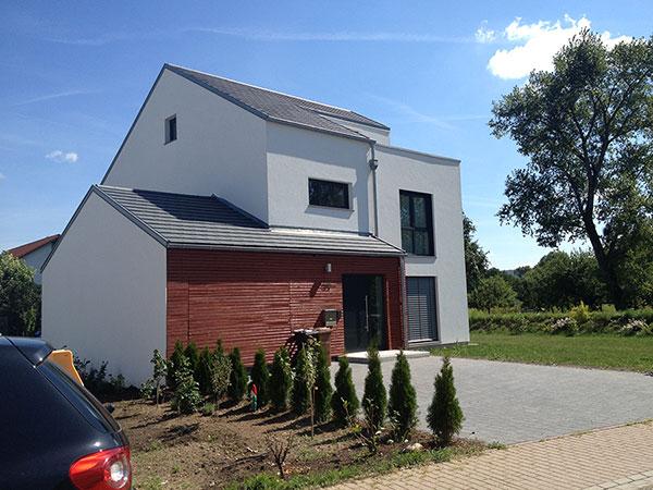 Neubau eines Einfamilienhauses | Aussen 2