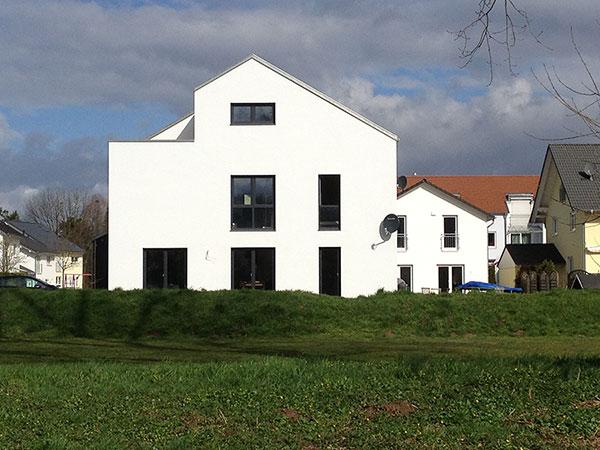 Neubau eines Einfamilienhauses | Aussen 1
