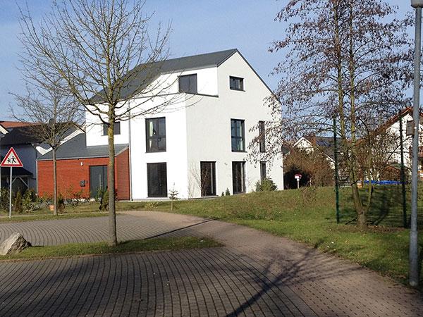 Neubau eines Einfamilienhauses | Aussen 3