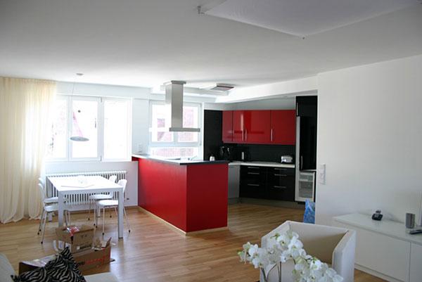 Umbau einer Ferienwohnung mit Loggia in Baden-Baden | Innen 1