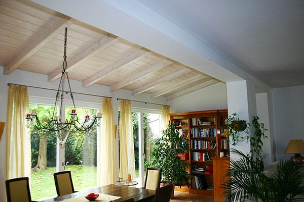 Anbau eines Wintergartens in Baden-Baden | Innen 1