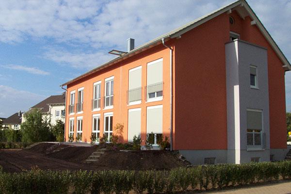 Neubau einer Reihenhausanlage in Baden-Baden | Aussen 1