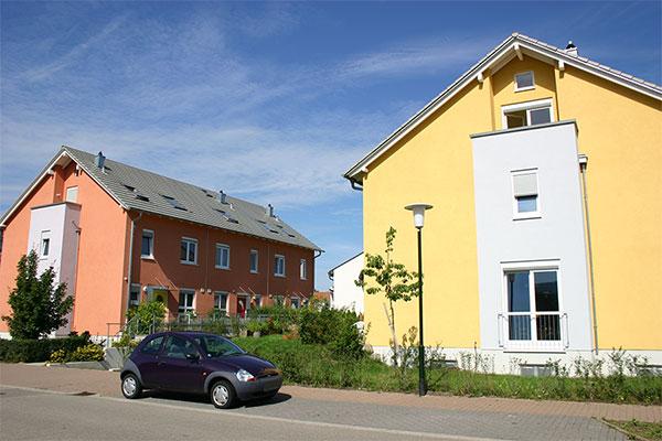 Neubau einer Reihenhausanlage in Baden-Baden | Aussen 3